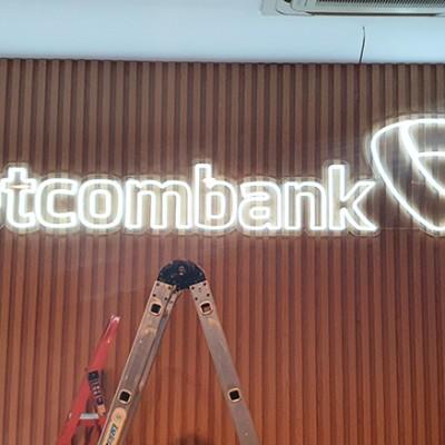 Thi công tại Hội Sở TT Vietmcombank