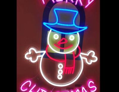Top mẫu neon sign cho trang trí Noel hot nhất