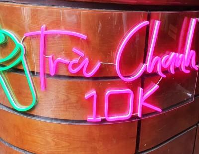 Neon Sign Led - Làm biển logo quảng cáo ngoài trời chống nước