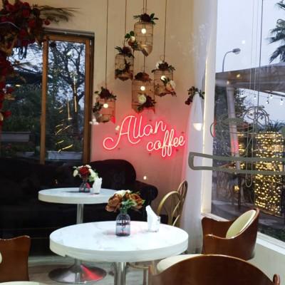 Thiết kế thi công quán Cafe Allan Coffee Tại CV Tuổi Trẻ