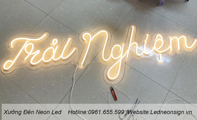 Thi công và thiết kế đèn neon flex ở Nam Từ Liêm Hà Nội 2