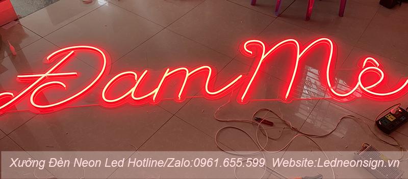 Thi công và thiết kế đèn neon flex ở Nam Từ Liêm Hà Nội 1