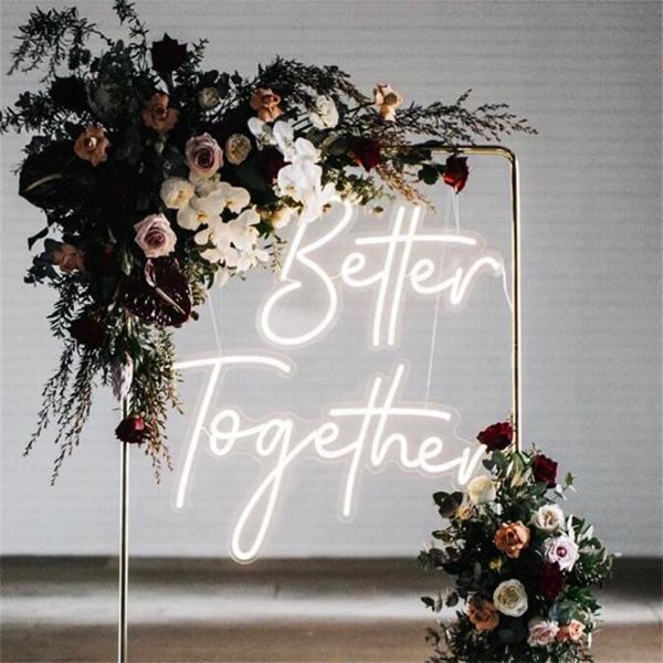 Đèn Neon Sign-Backdrop cho tiệc cưới xu hướng mới nhất năm nay 5