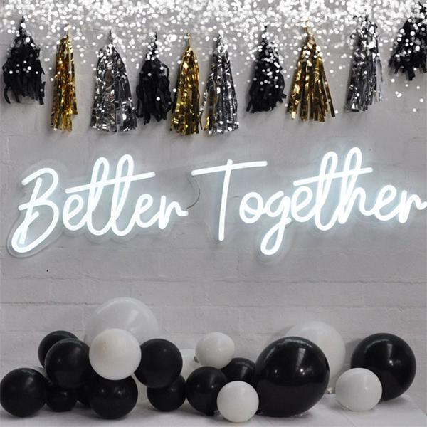 Đèn Neon Sign-Backdrop cho tiệc cưới xu hướng mới nhất năm nay 7