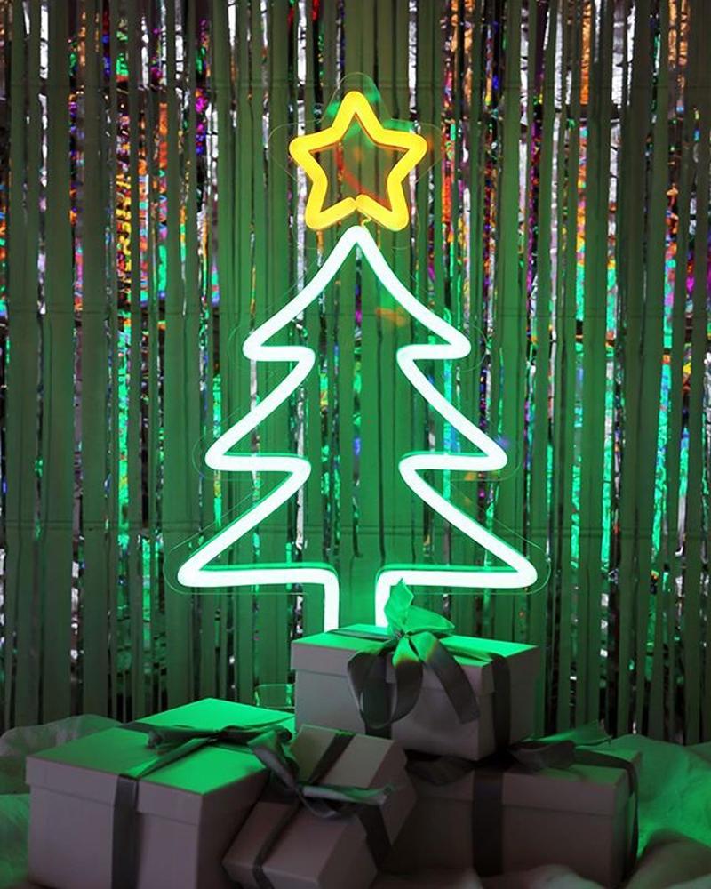 Top mẫu neon sign cho trang trí Noel hot nhất 1