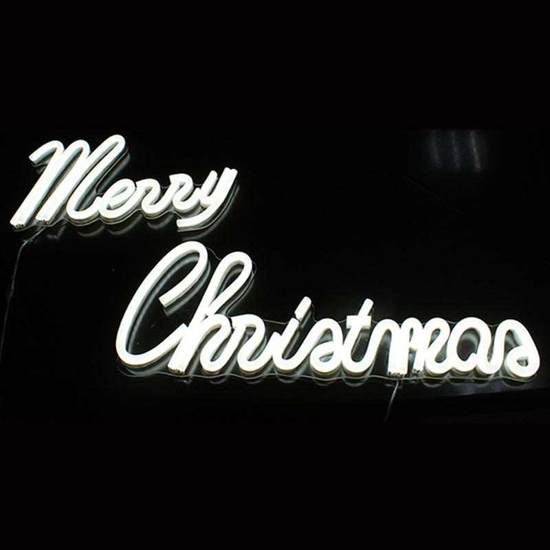 Top mẫu neon sign cho trang trí Noel hot nhất 2