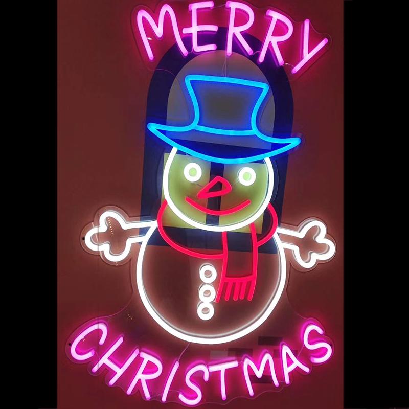 Top mẫu neon sign cho trang trí Noel hot nhất 6