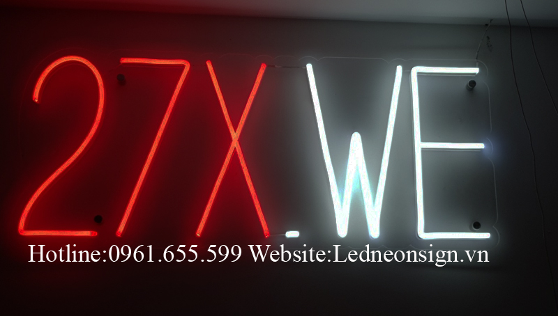 Trang trí shop bán hàng tạo điểm nhấn với Neon Sign Led 3