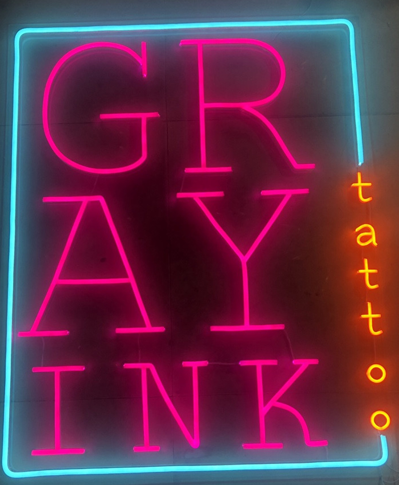 Neon Sign Led - Làm biển logo quảng cáo ngoài trời chống nước 5