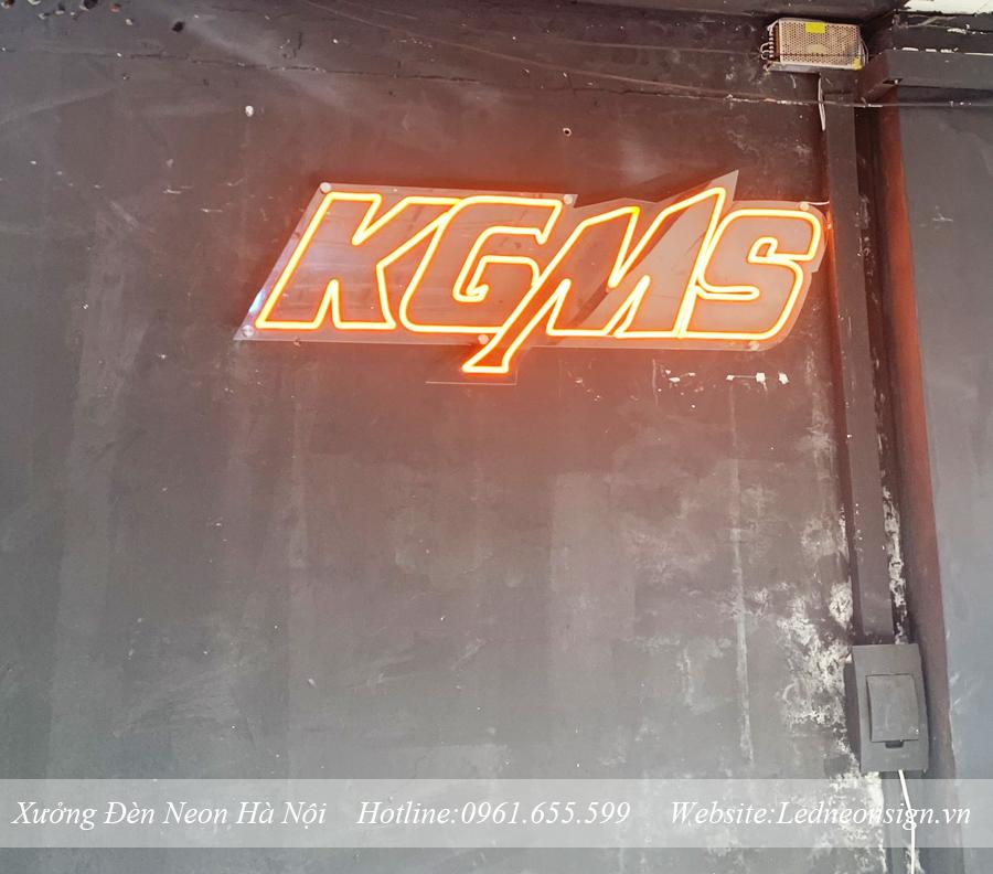 Thi công và thiết kế đèn neon sign flex tại Tây Hồ Hà Nội
