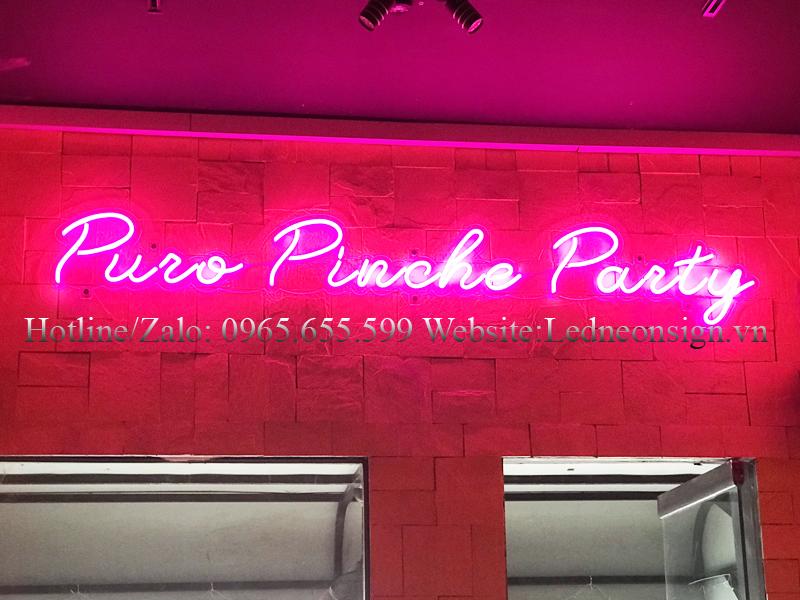 Thi công Neon Sign Led cho quán Bar Beer Club uy tín tại Hà Nội 2