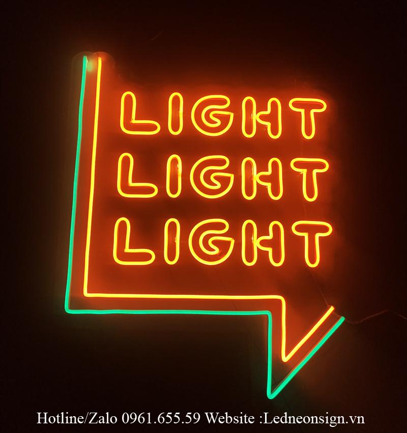 Thiết kế Logo thương hiệu bằng Neon Sign Led hiện đại 2