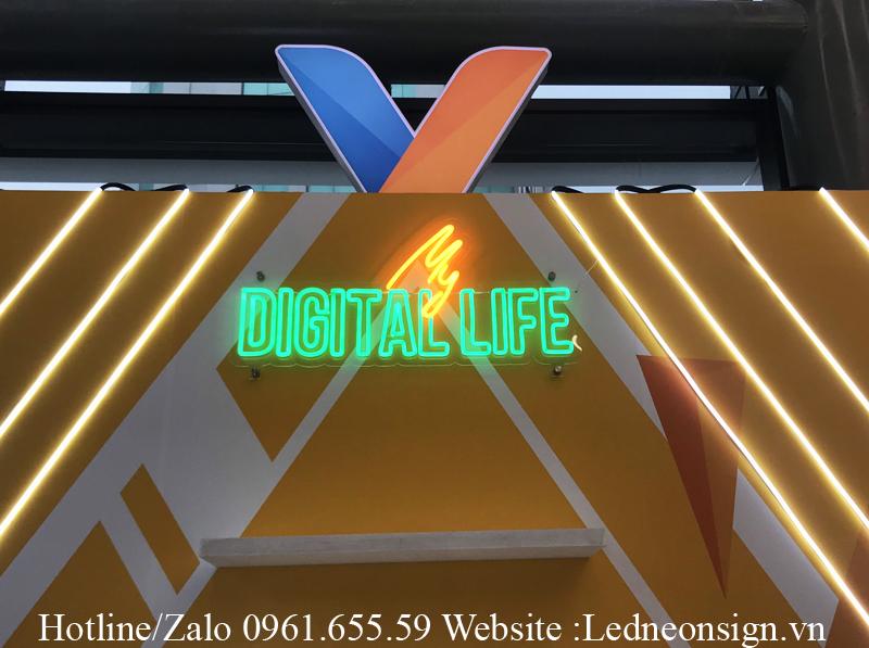 Thiết kế Logo thương hiệu bằng Neon Sign Led hiện đại 1