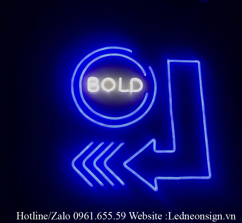 Thiết kế Logo thương hiệu bằng Neon Sign Led hiện đại 3