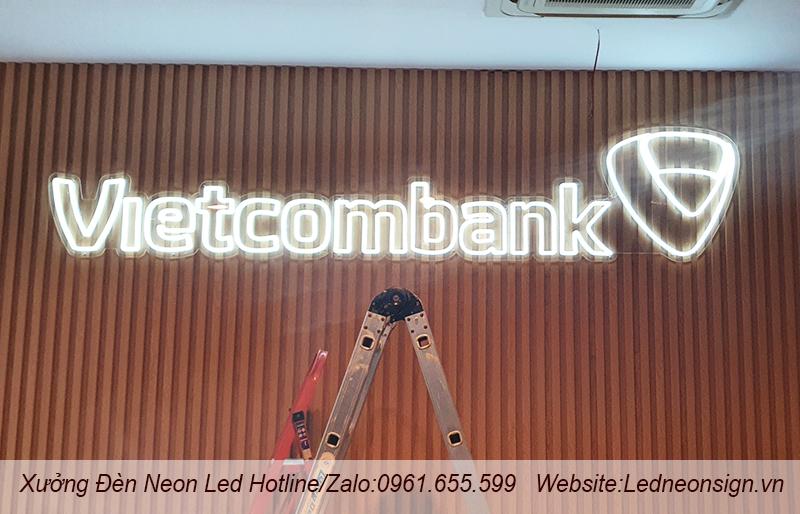 Thi công và thiết kế đèn neon sign flex ở Bắc Từ Liêm Hà Nội