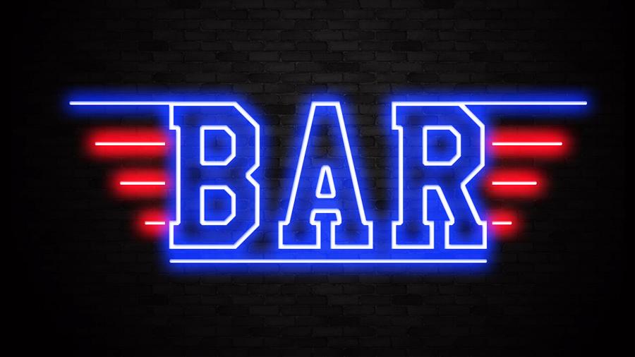 Trang Trí Quán Bar Ấn Tượng Bằng Led Neon Sign 1