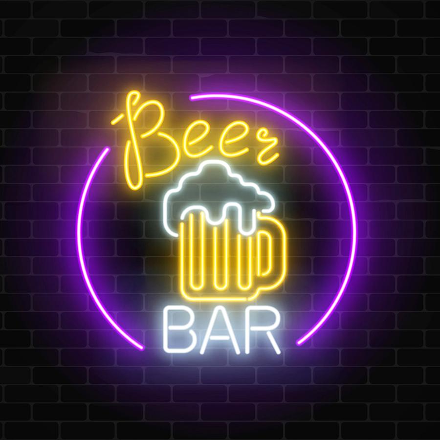 Trang Trí Quán Bar Ấn Tượng Bằng Led Neon Sign 7