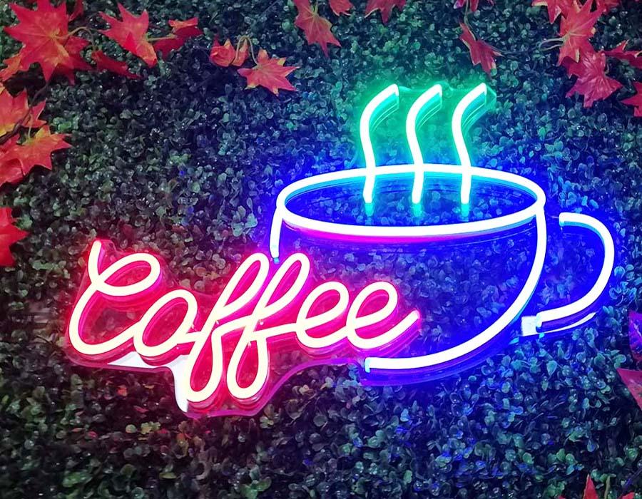 Led Neon Sign mang không gian thời thượng cho quán cafe 5