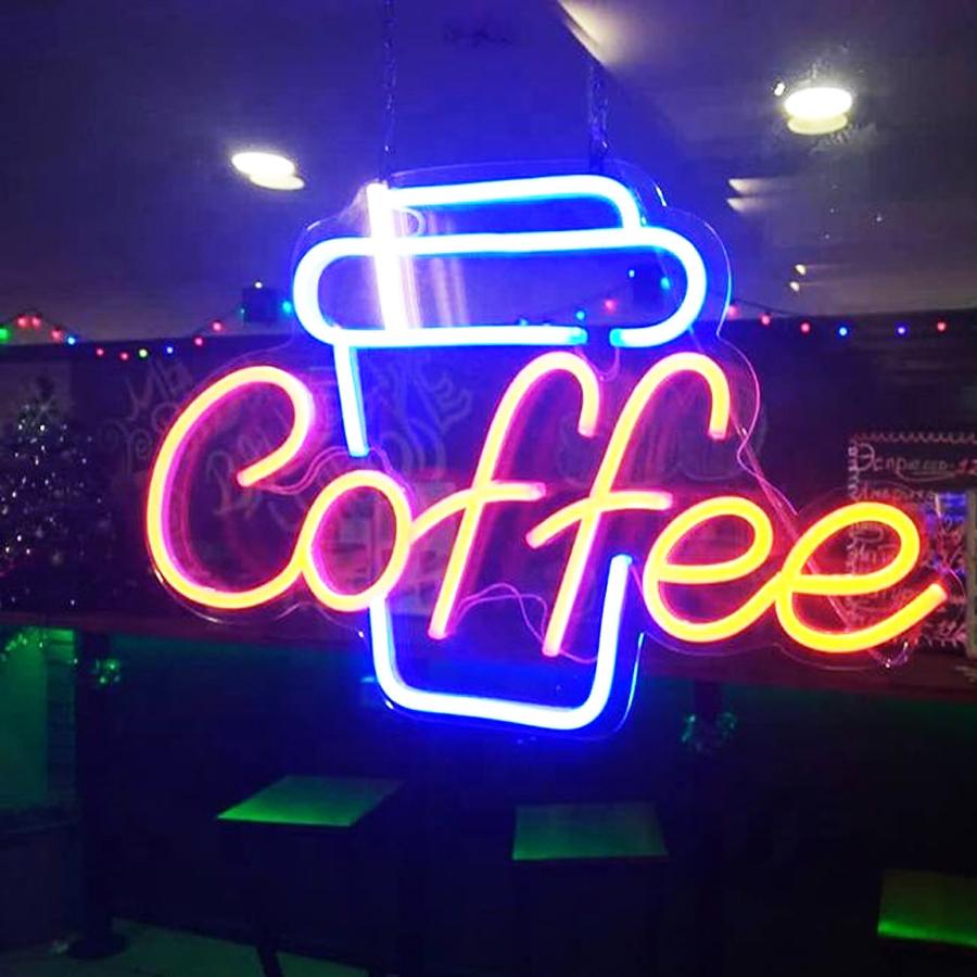 Led Neon Sign mang không gian thời thượng cho quán cafe 6