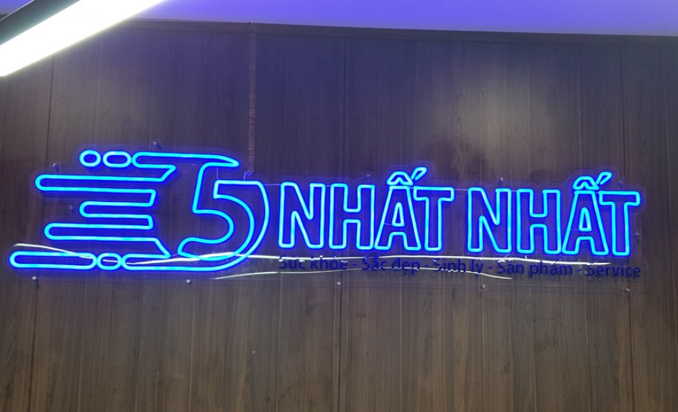 Mẫu led Neon Sign Số 57